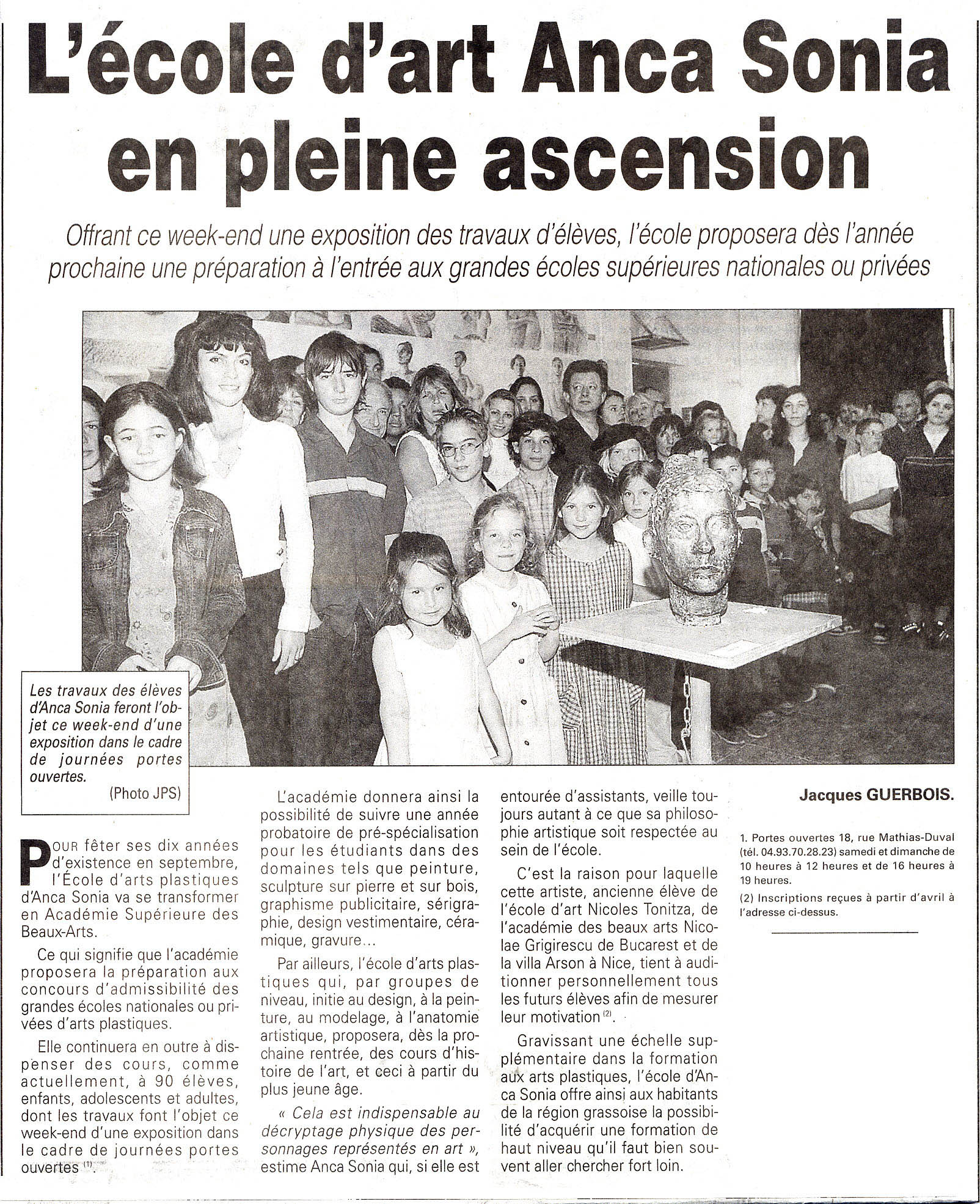 2003-05-24-Nice-matin-L-ecole-en-pleine-ascension